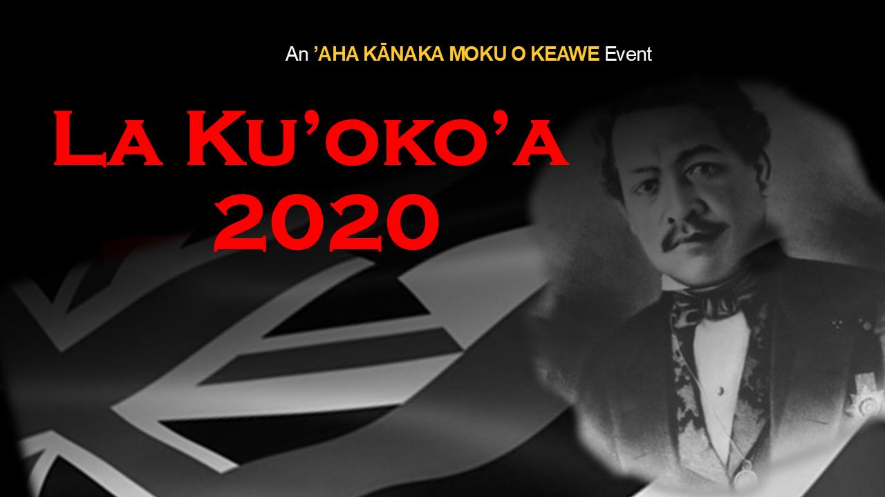 La Ku'oko'a 2020 Logo
