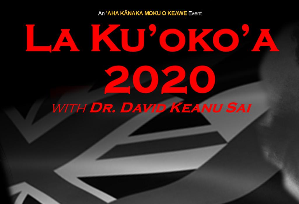 La Ku'oko'a 2020-Keanu Sai 1025x700