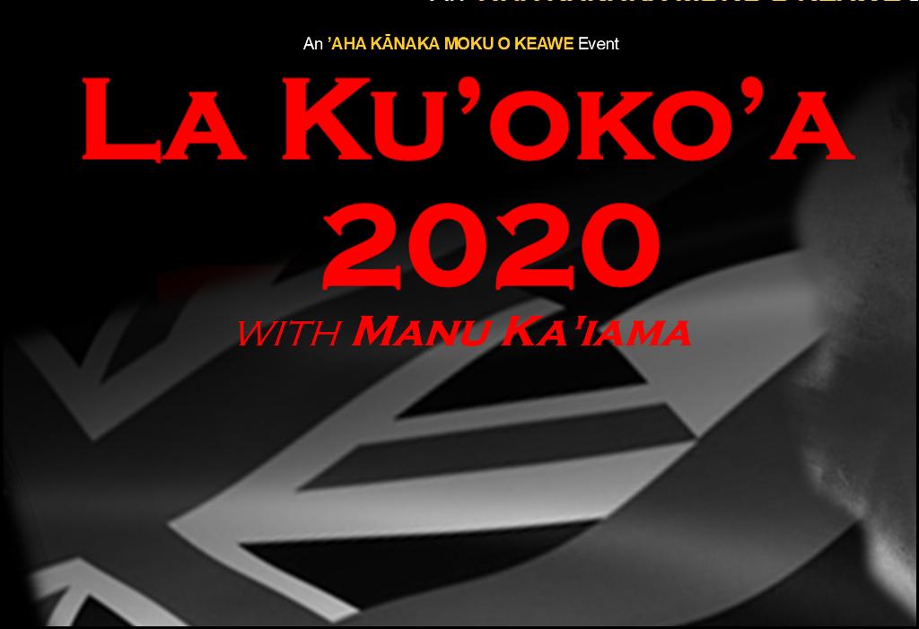 La Ku'oko'a 2020-Manu Ka'iama 1025x700